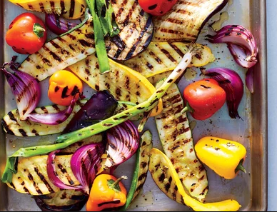 Campfire Grilled Vegetables