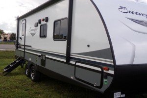 New 2019 Forest River Surveyor 241RB Travel Trailers
