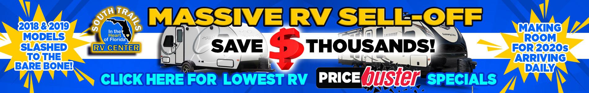 Massive RV Sell-Off